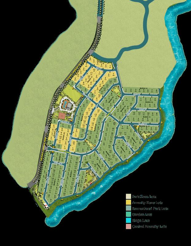 Rockwell South Carmelray - Amenity Zone Lots