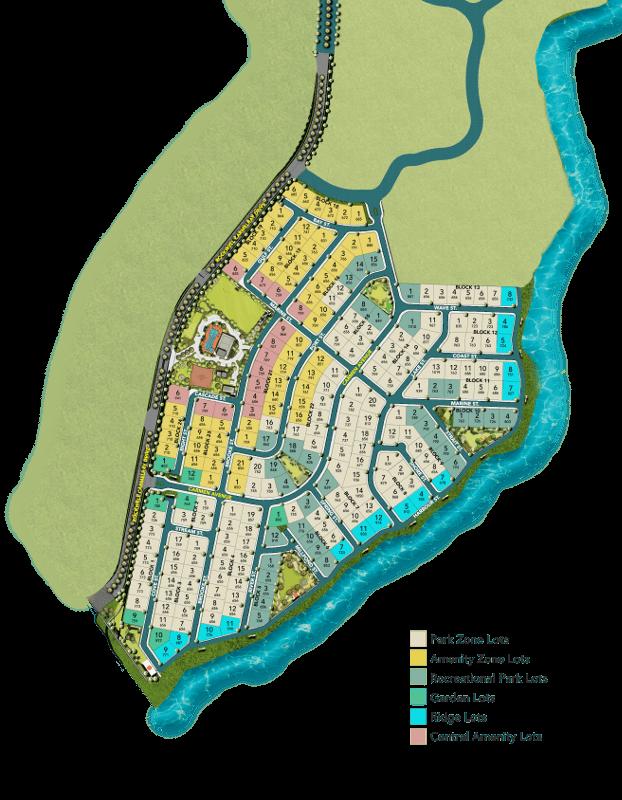 Rockwell South Carmelray - Lot Types