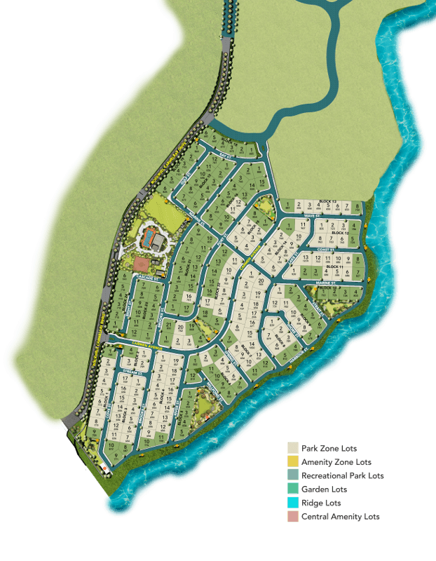 Rockwell South Carmelray - Park Zone Lots